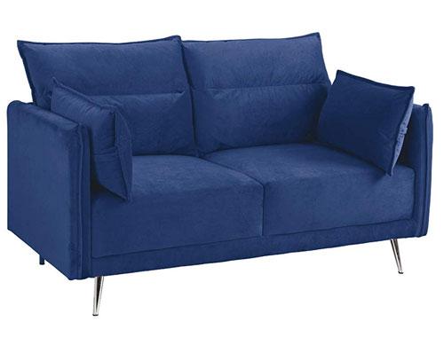 Casa Andrea Milano - Upholstered (Velvet) - Blue