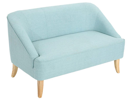 Christopher Knight Home Justus Loveseat Mid-Century - Blue Light