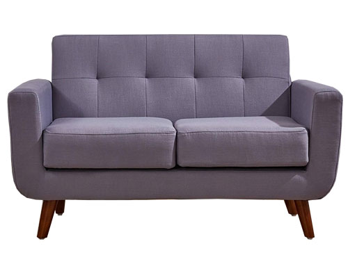 Container Furniture Direct - Rainbeau Loveseat - Purple