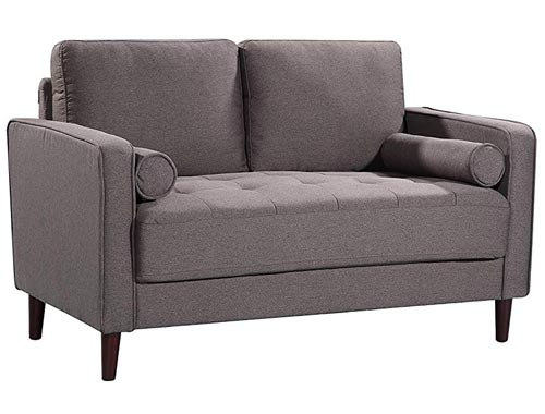 Lifestyle Solutions Lexington Love Seat - Grey