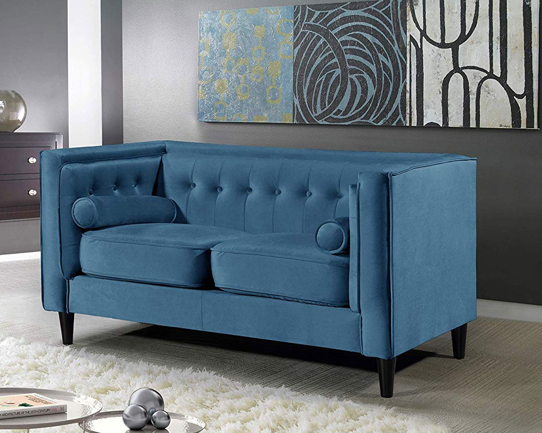 Meridian Furniture - Taylor Mid-Cent 2-Seat Sofa - Featured
