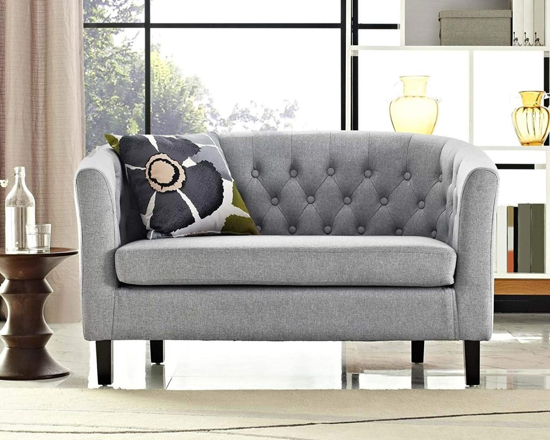 Modway Prospect Loveseat Sofa (Fabric) - Featured