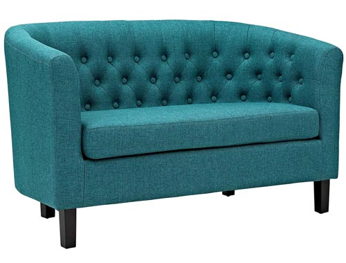 Modway Prospect Loveseat Sofa (Fabric) - Teal