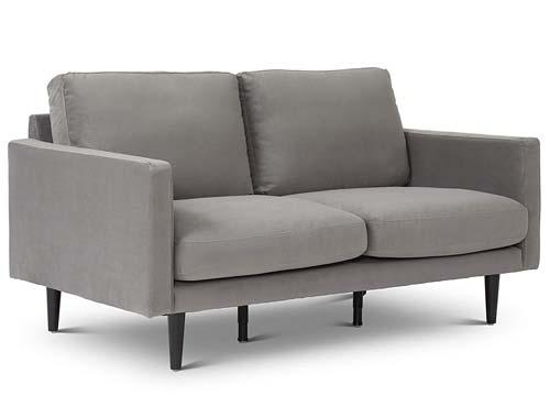 Stitch & Time - Braxton Loveseat Sofa - Grey