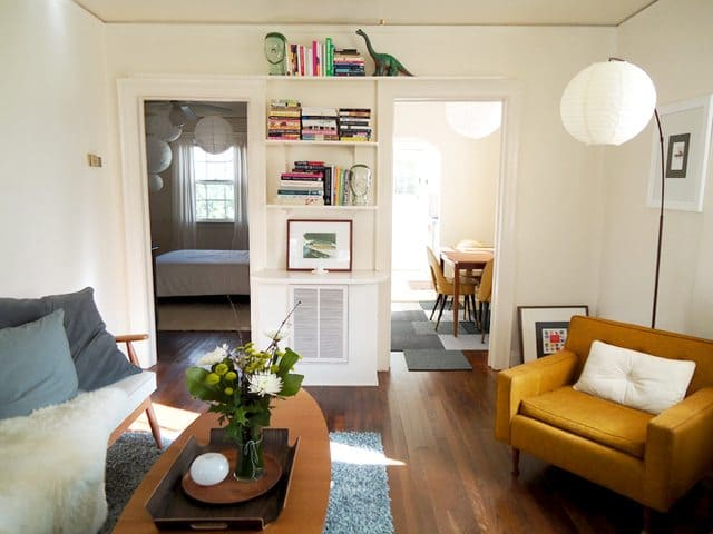 How Liz Moved In a 50 Smaller House Keeping All Her
