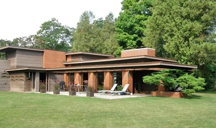 Frank Lloyd Wrights Dream House The Schwartz House