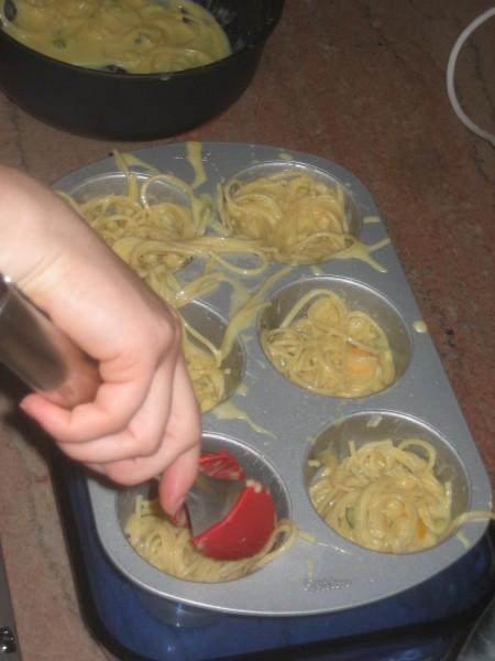 Spaghetti Timbales 776