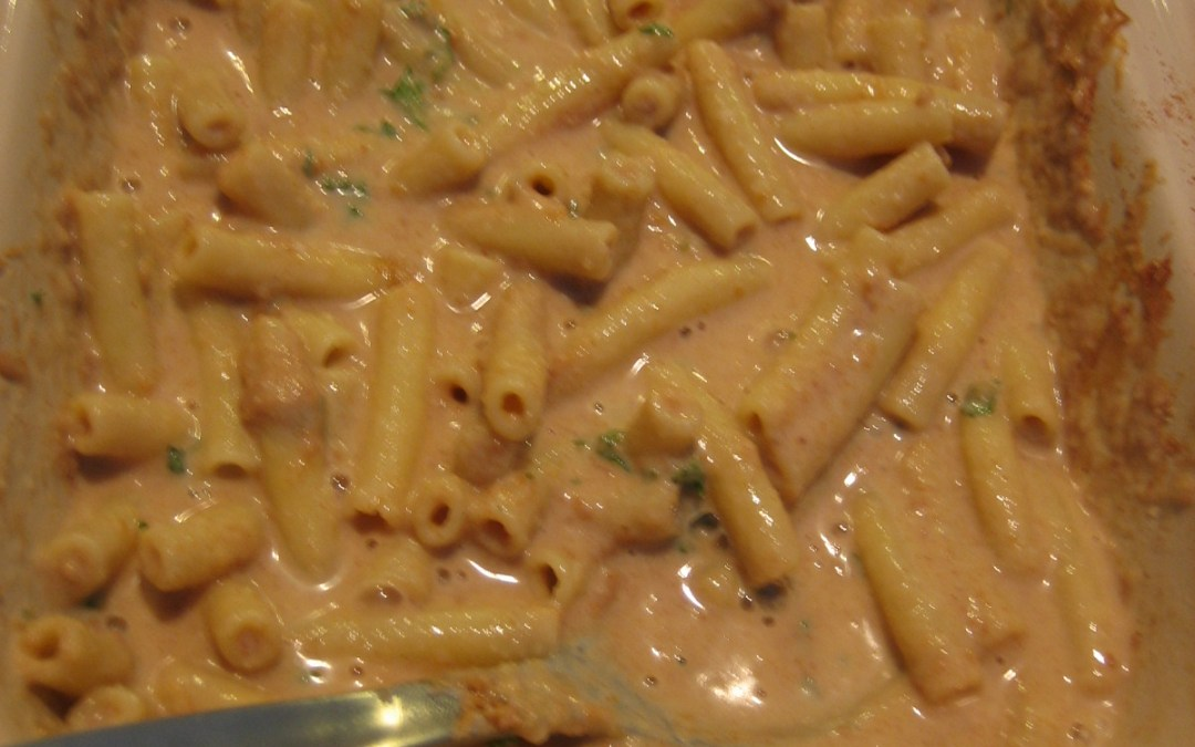 Macaroni With Peanut Butter and Egg Noodle Pudding