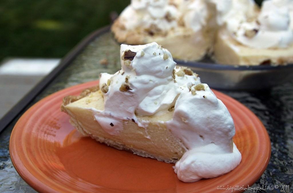 Cider Eggnog Pie – A Mid-Century Recipe Test