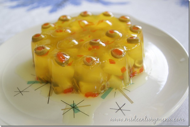 The Top 10 Mid-Century Menu Posts For 2012 – Gelatin, Cake and More Gelatin