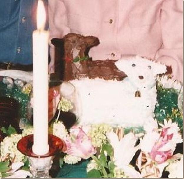 S. Soper Lamb Cake