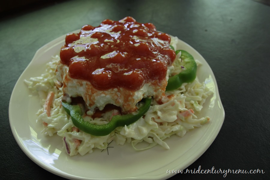 Jellied Cottage Cheese And Tomato Salad – A Vintage Gelatin Recipe Re-Run