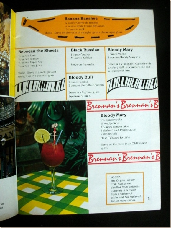 Recipes of Drinks