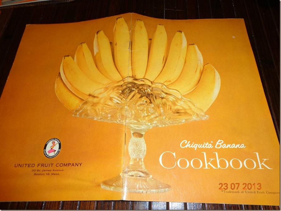 Chiquita Banana Cookbook