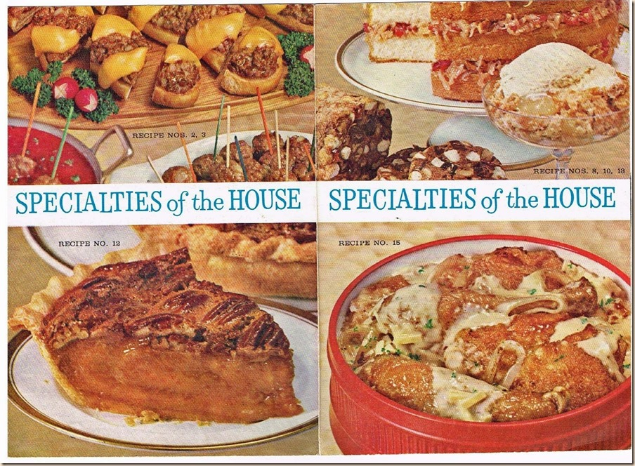 Specialties of the House