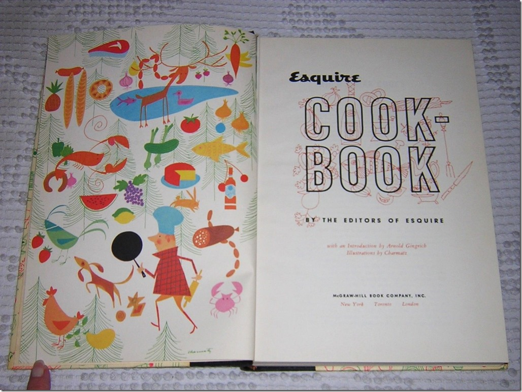 Esquire Cook Book