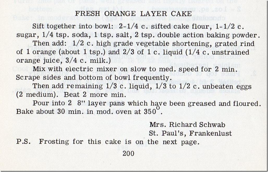 Orange Cake001