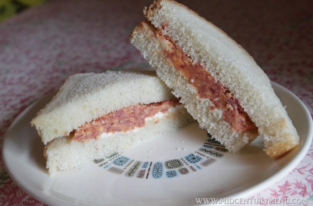 Savory Sandwich, 1931– A Vintage Recipe Test