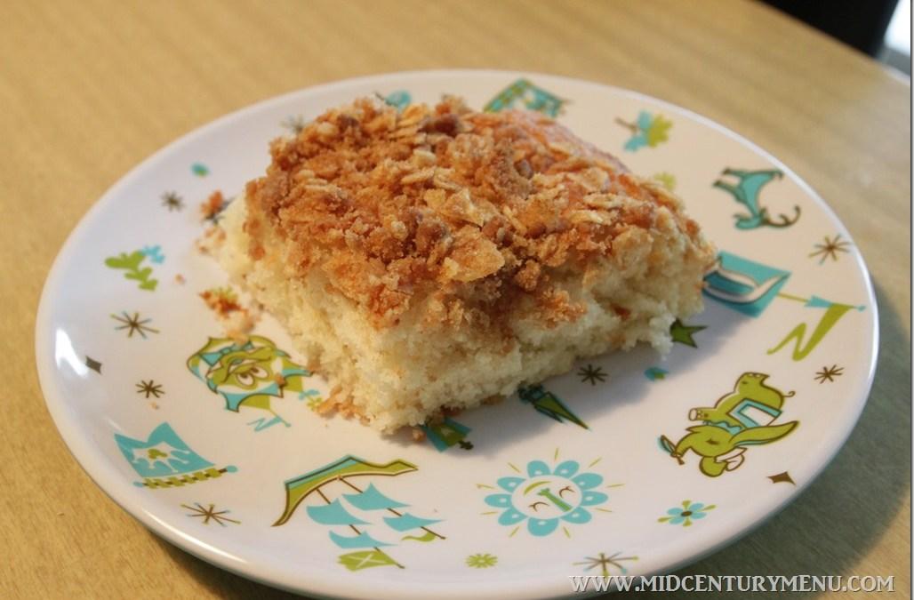 Potato Chip Coffee Cake, 1957– A Vintage Recipe Test