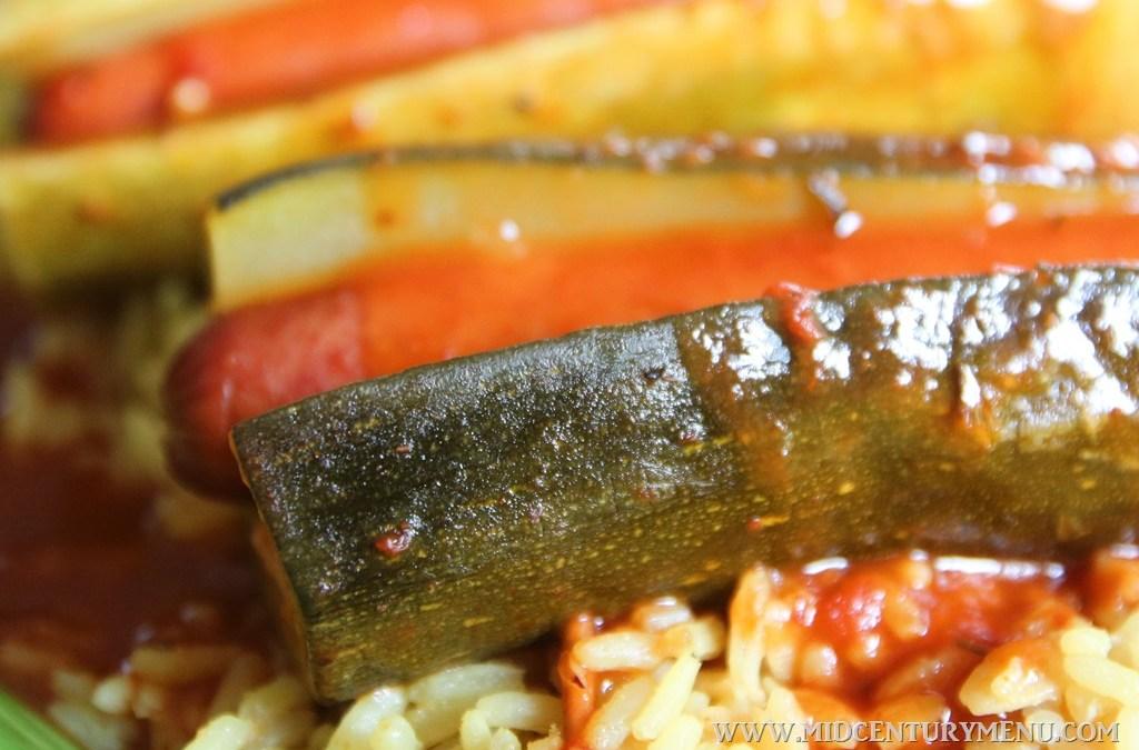 Zucchini Weenie, 1934 – A Vintage Recipe Test