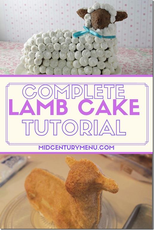 Lamb Cake Tutorial 2