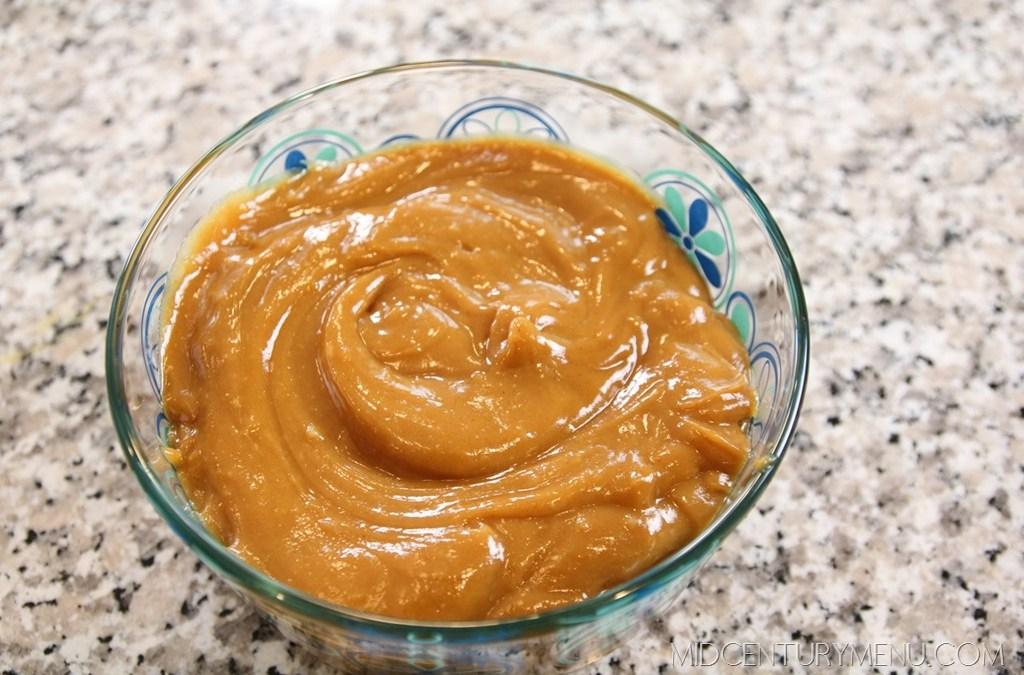Peanut Butter Spread – A Vintage Recipe Test