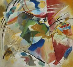 20th Century Art Wassily Kandinsky Mid Century Modern Groovy