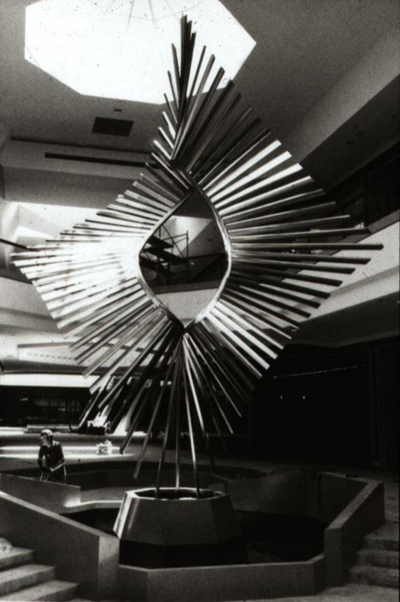 Space Twist, Victor Pickett, Chesterfield Mall, St. Louis, Missouri, 1976.