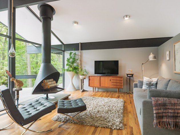 48 Distinctive MidCentury Living Room Designs That Will Inspire You New Mid Century Living Rooms