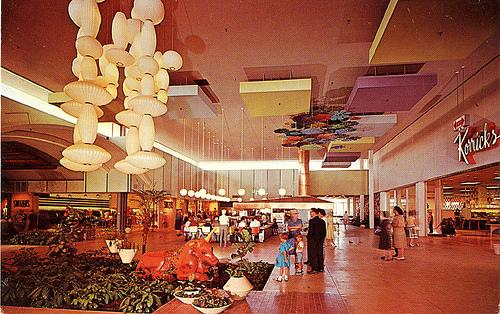 Christown Mall in Phoenix in the 60s