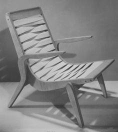 The Relaxation Web Chair, 1947.