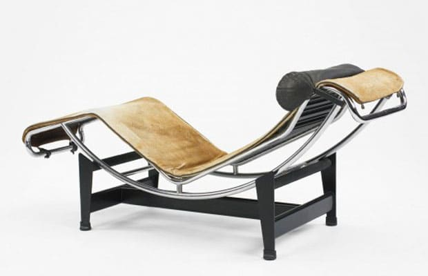 LC4 Chaise Longue Designed by Le Corbusier, Charlotte Perriand and Pierre Jeanneret