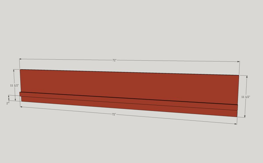 Vertical Support Piece.