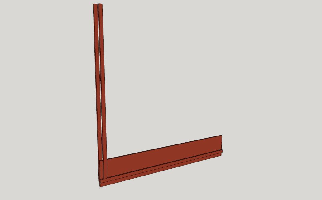 The Uprights Alternate.