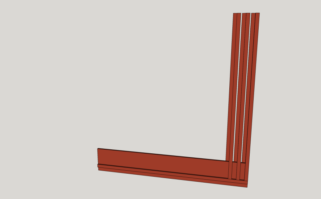 Placing the Uprights.