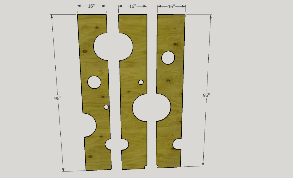 Divider Cut Into Sections.