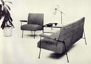 Chair, Sofa, and Table for Pacific Iron.