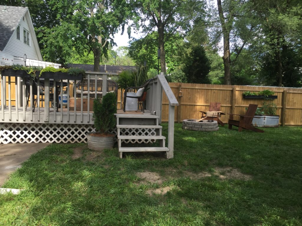 DIY Raised Garden & Other Small Backyard Projects