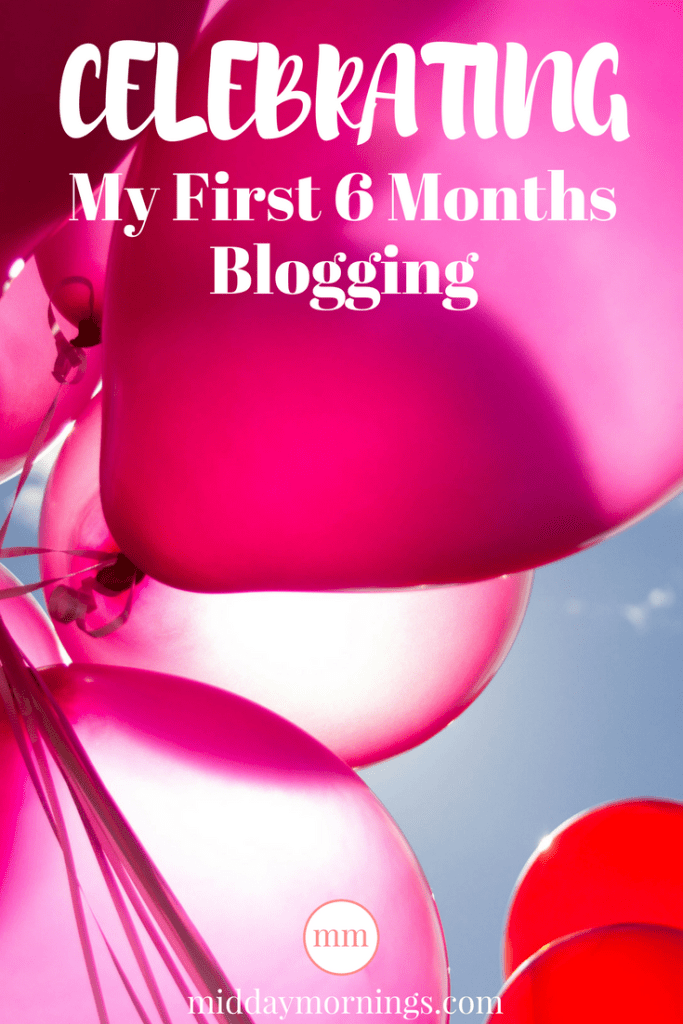 I'm celebrating my 6-month blogiversary by reviewing the 3 things I've learned from blogging. #blogging