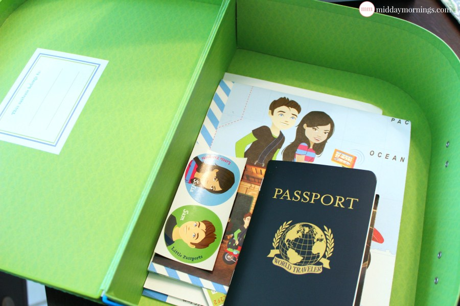 Little Passports: World Edition review. Read the review at MiddayMornings.com