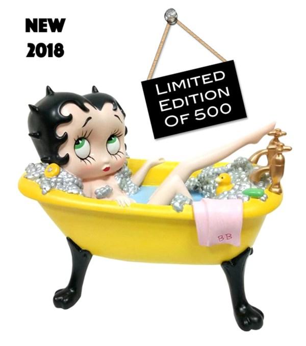 Betty Boop In Pink Bath Tub