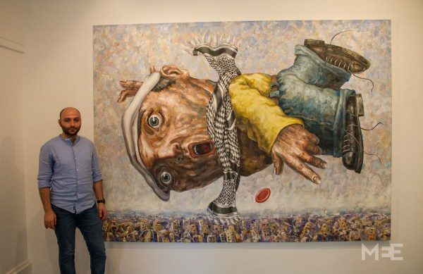 Syrian Artist' Puzzled Figures Crushed Centuries Of Oppression Middle East Eye