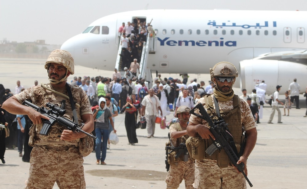 UAE runs Aden as protectorate while Hadi hides in the