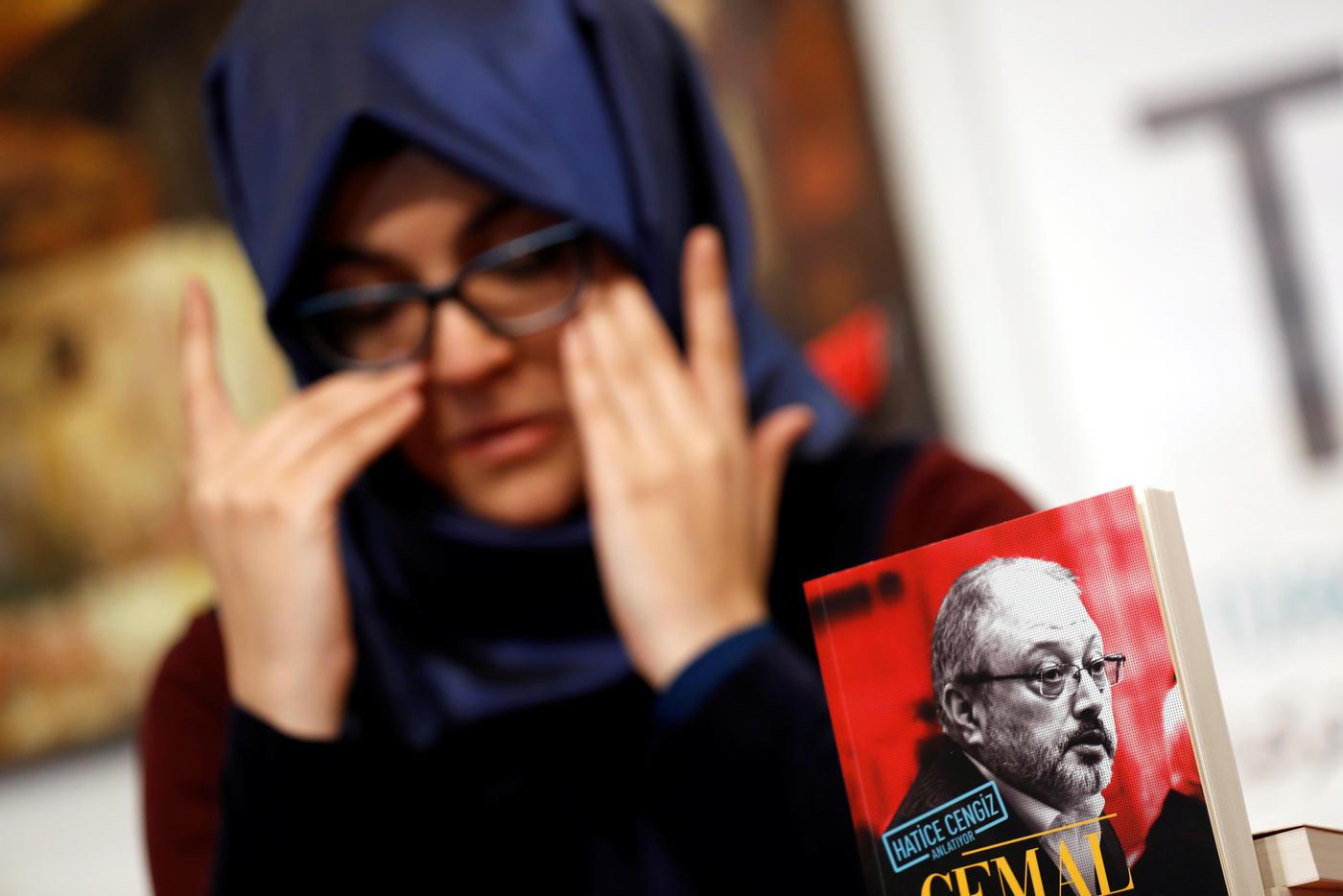 Khashoggis fiancee shares intimate details of slain
