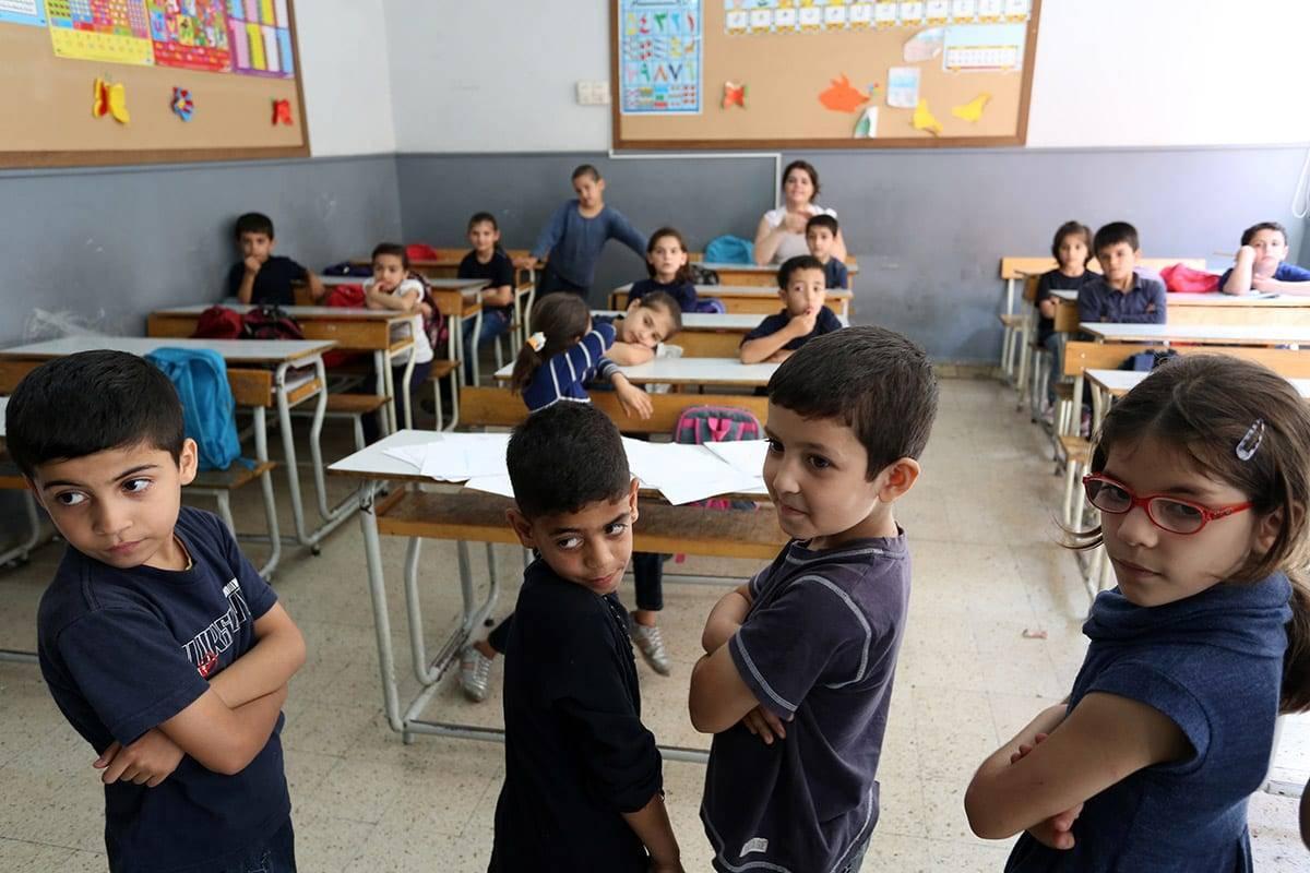 Image of Syrian refugees in Lebanon [Anadolu]