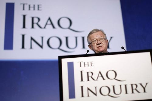 Explained: The Chilcot Report Sir John Chilcot, was appointed in 2009 as chairman of an inquiry into the circumstances surrounding the Iraq War in 2003