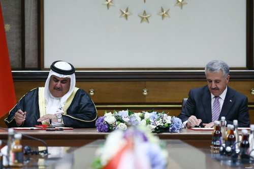 Turkey, Bahrain signs 5 agreements in Ankara