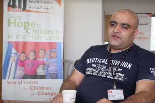 Image of Mohammed El Halabi, World Visions area development programme manager [Mohammad Awed]