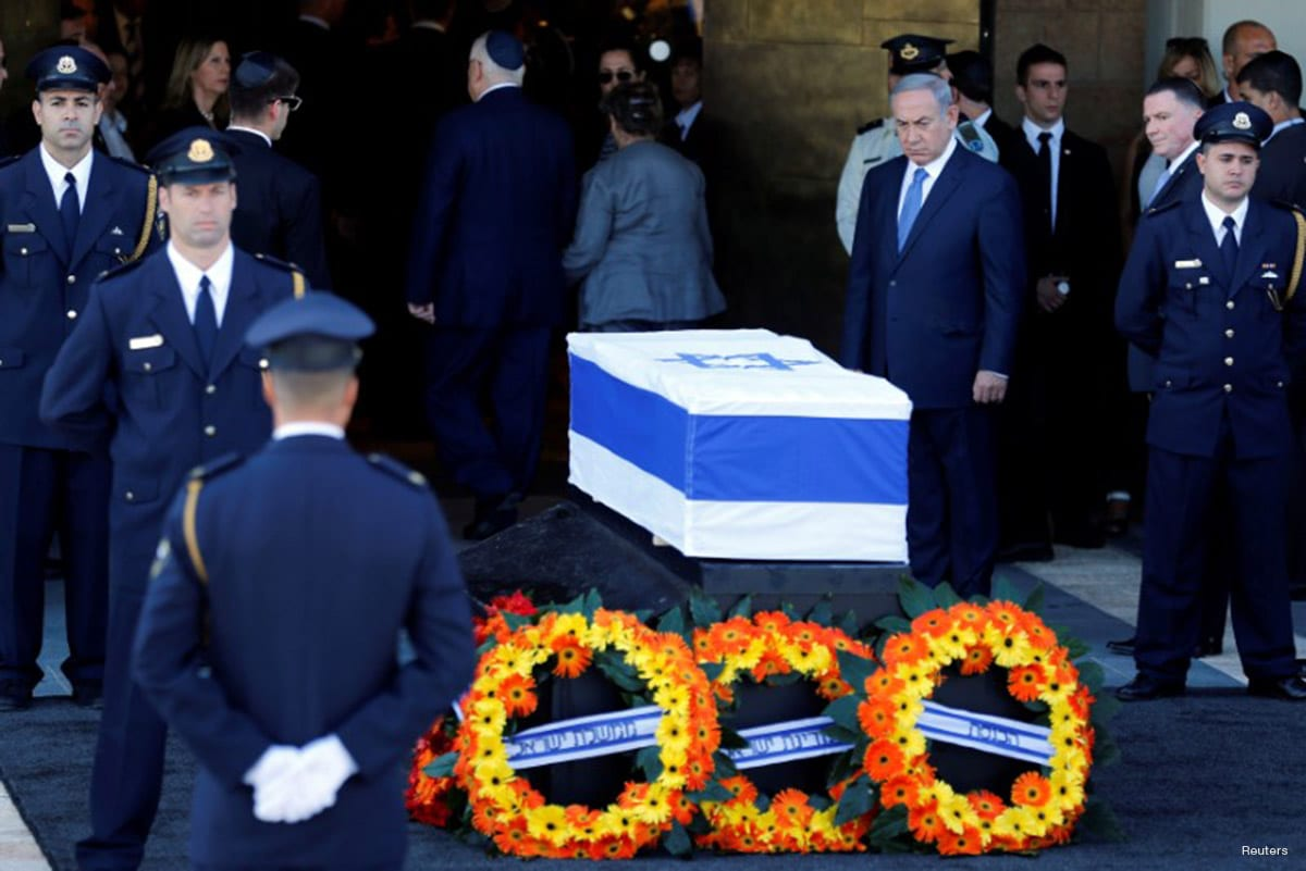 Peres funeral, attended by Obama, briefly brings Israeli, Palestinian leaders together