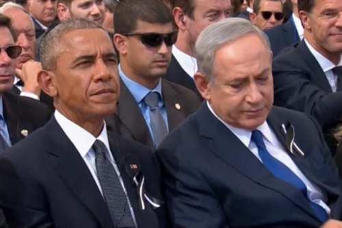 Israel's Prime Minister Benjamin Netanyahu and U.S. President Barack Obama on September 30, 2016 [REUTERS/Pool via Reuters TV]